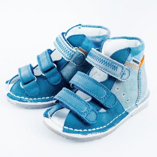 ad976513 Buty profilaktyczne BARTEK 11688 niebieskie Sklep krokodylek ...