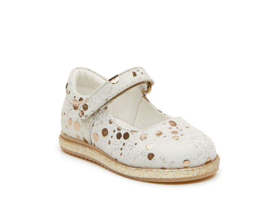 ecfa2b8a Baleriny dla dziewczynki PRIMIGI 3419222 beż/złoto Sklep krokodylek ...