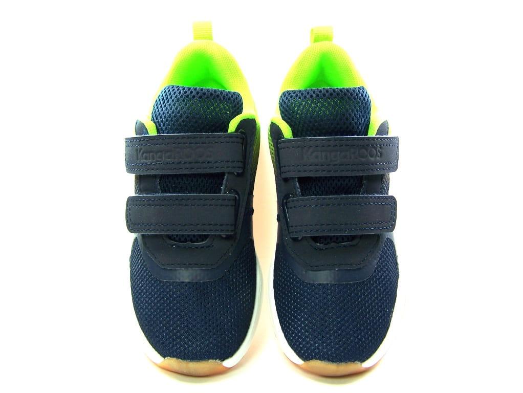 Buty sportowe Kangaroos 4054 chłopięce na rzepy