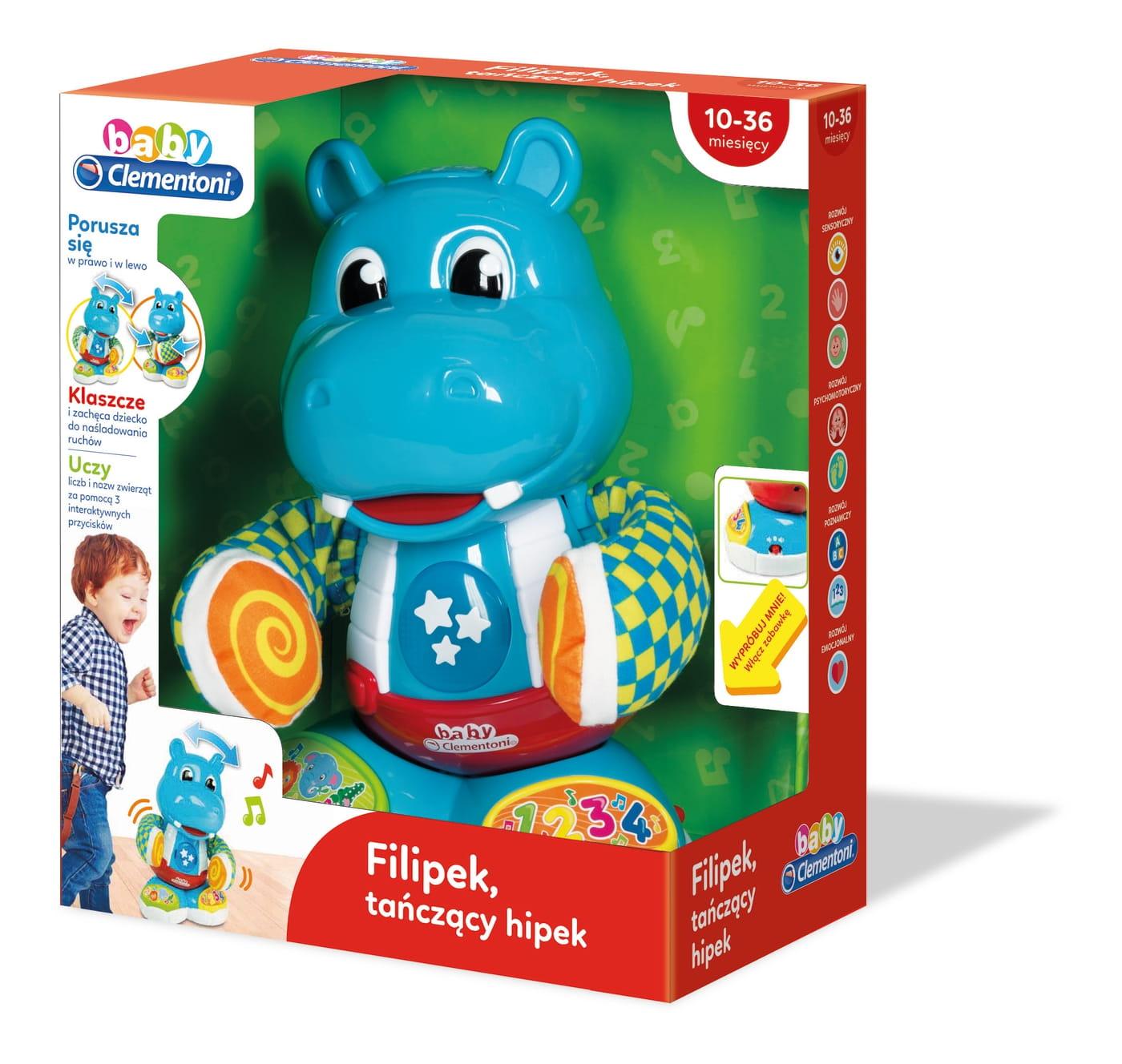 Zabawka Edukacyjna Filipek Tanczacy Hipek Clementoni Sklep